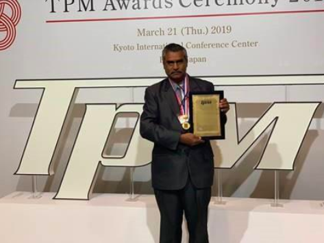 TPM Excellence Award category A
