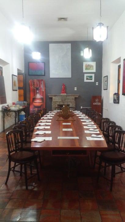 sala de juntas eventos empresariales