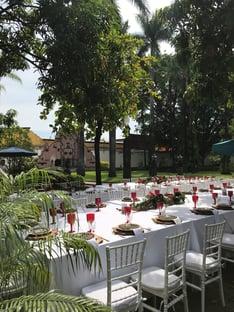 decoracion bodas pequeñas en jardin