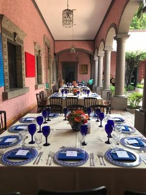 mesas para bodas pequeñas