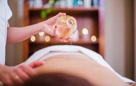 masaje para novia