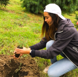 plantación de árboles Casa Sauza