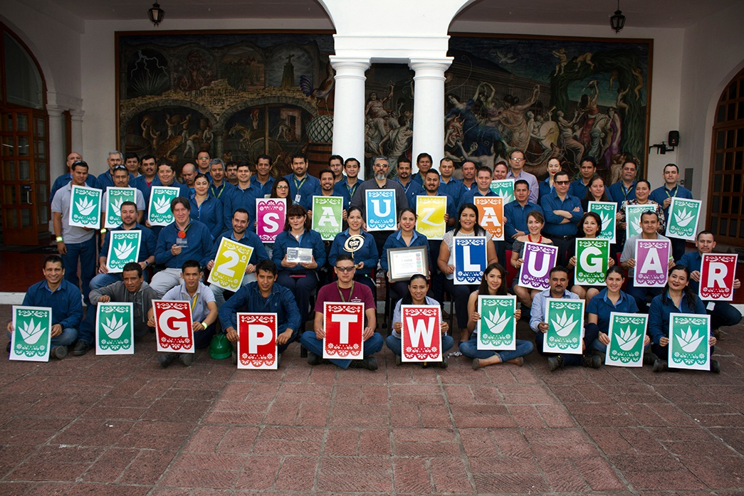 Great Place to Work 2018-B Casa Sauza