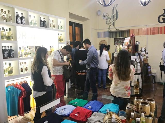 casa sauza tequila souvenir shop