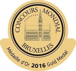 Medalla de oro Concurso Mundial de Bruselas Casa Sauza