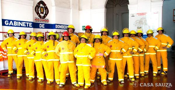 bomberos casa sauza