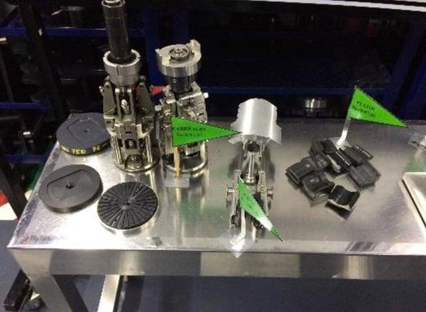 presentation changes on production line