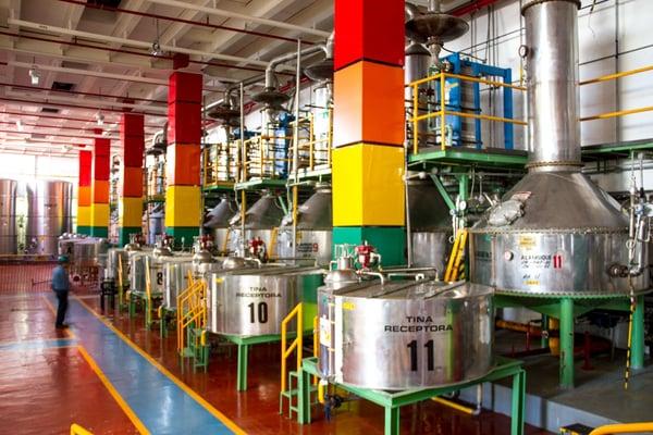 destilado alambiques casa sauza