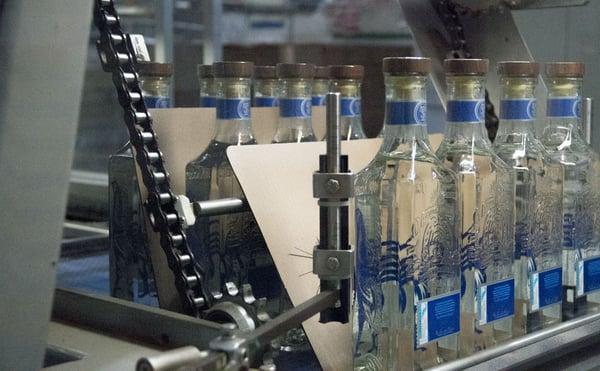 Automatización industria tequilera
