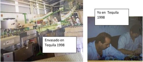 Envasado en Casa Sauza 1998 Gerardo Padilla