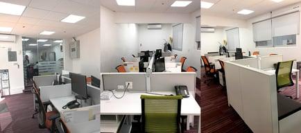 Living office at casa sauza