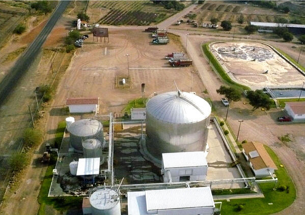 waste water treatment tequila industry casa sauza