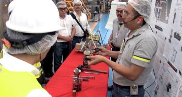 Casa Sauza operator continuous improvement