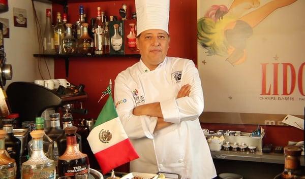 Chef Jorge Orozco en Casa Sauza y la comida prehispánica