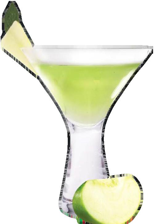 Cóctel Mactini con tequila reposado Hornitos Casa Sauza