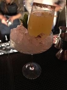 Cóctel maverik con tequila Casa Sauza