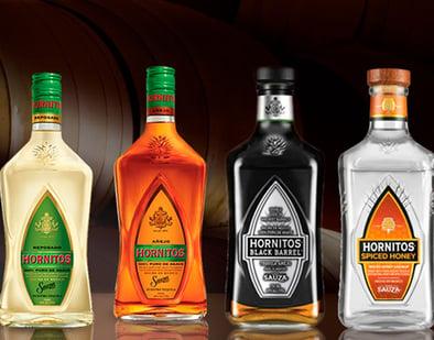 familia tequila hornitos sauza