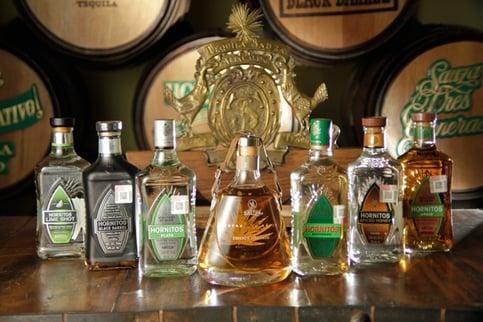 tequila sauza XA hornitos