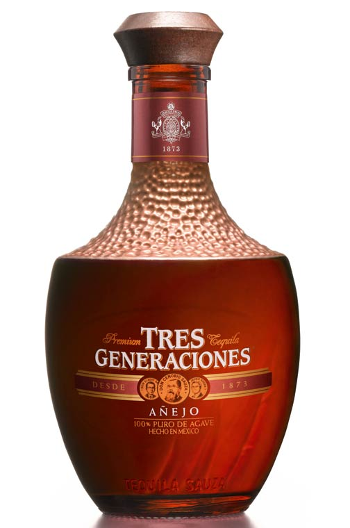 Tequila añejo 3 generaciones Sauza