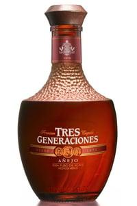 tres generaciones añejo tequila sauza