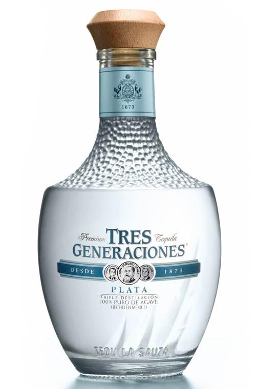 Tequila plata o blanco 3 Generaciones Sauza