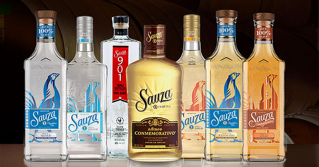 kinds of tequilas sauza