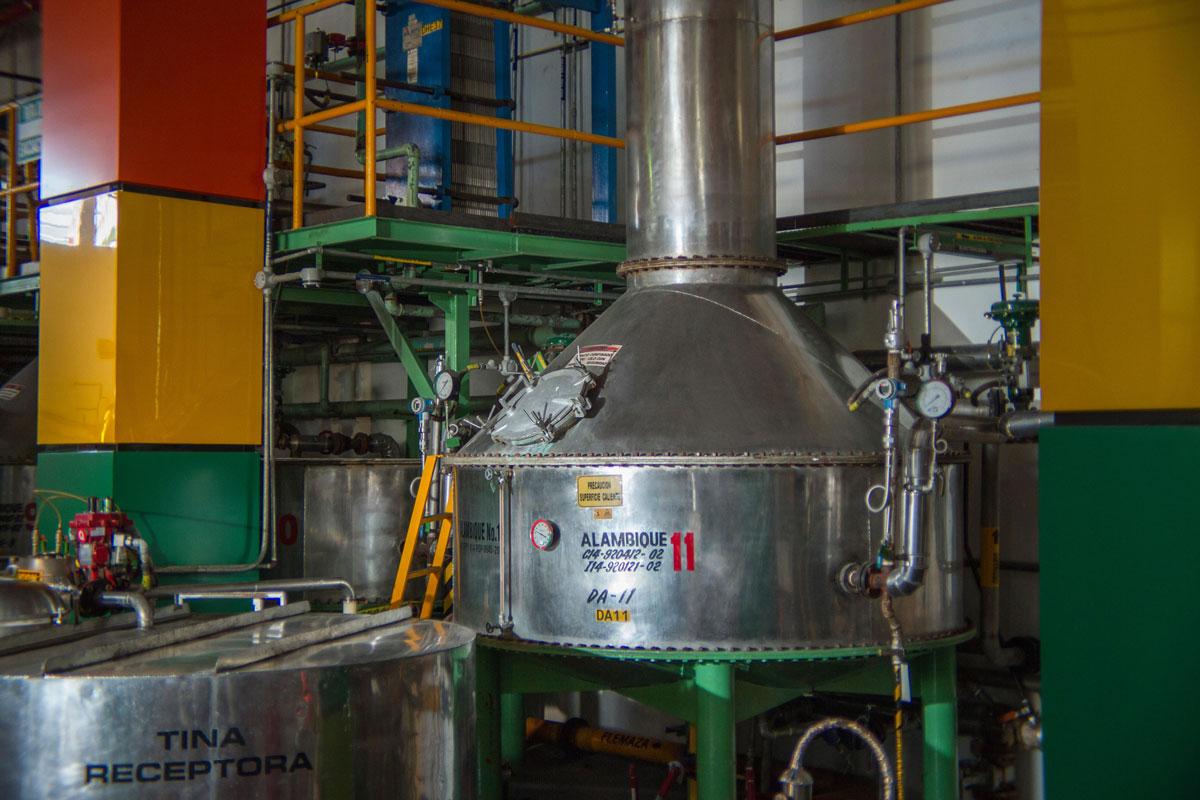 Modern distillery Sauza