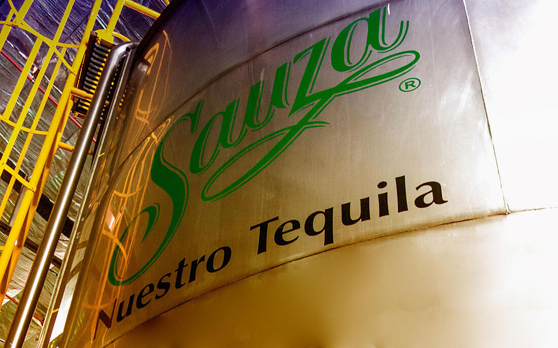 How is tequila made at Casa Sauza.