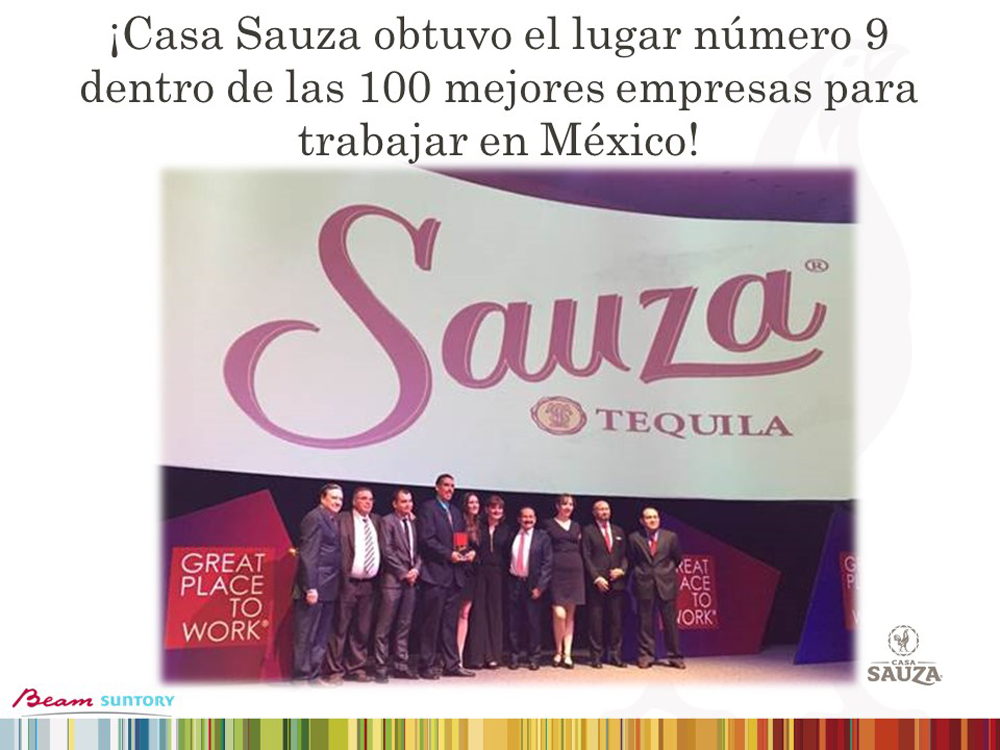 Casa Sauza Lugar 9 Great Place to Work