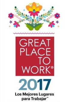 Great Place to Work 2017 Casa Sauza sello
