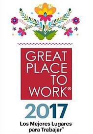 Great Place to Work 2017 Casa Sauza sello