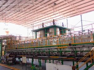Difusor extracción suave para producción de tequila Casa Sauza
