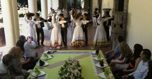 Company events at Casa Sauza Tequila, Jalisco