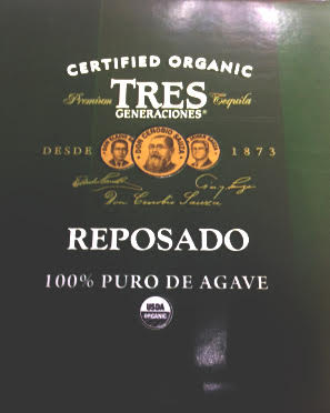 organic certification reposado agave