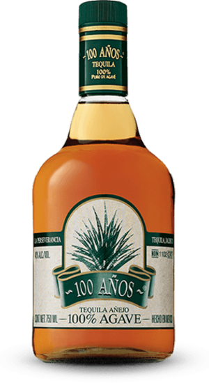 tequila sauza 100 años Añejo