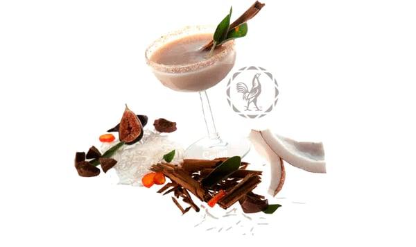 coctel con tequila Margarita de Coco