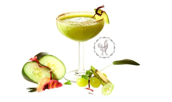 coctel con tequila Margarita de Pepino