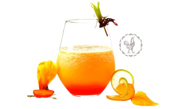 coctel con tequila sauza pasión congelada