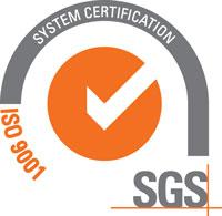 SAUZA SGS ISO-9001 Certificate