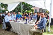 Mesa en evento Casa-Sauza