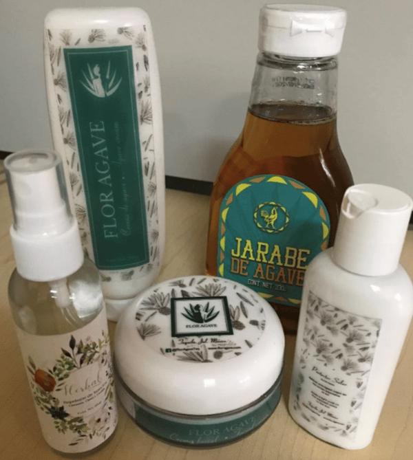 Productos a base de agave