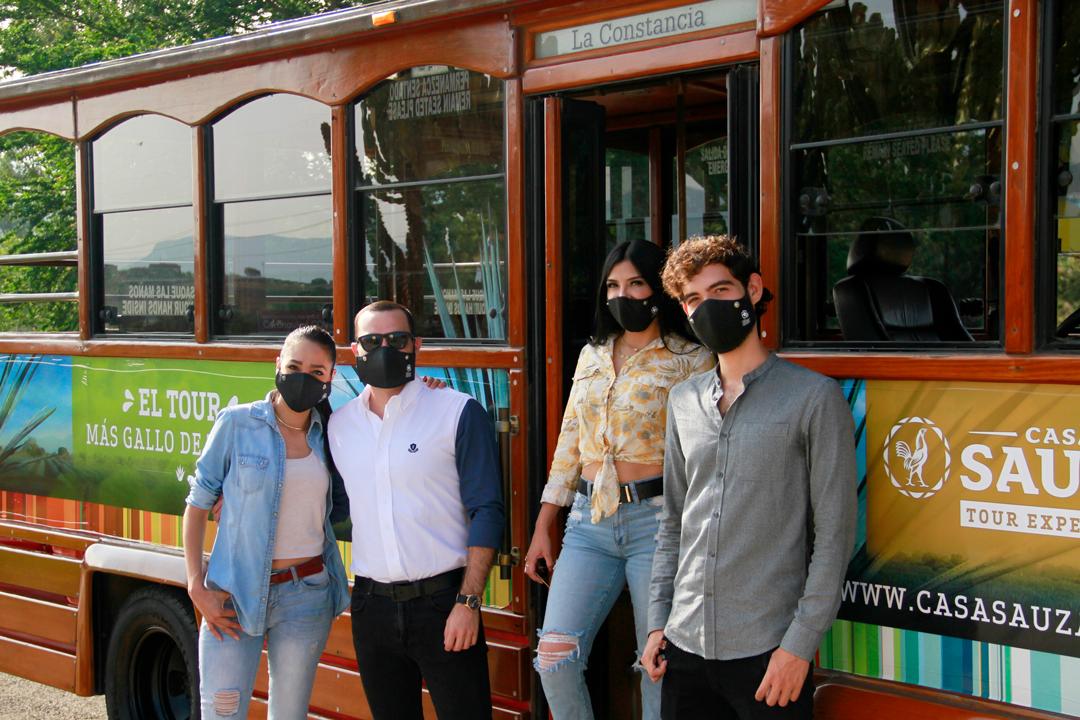 Tour-visitantes-Casa-Sauza-Pandemia-Trolley