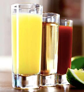 banderita bebida con tequila
