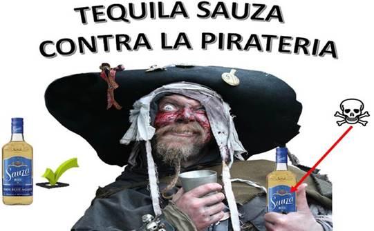 industria del tequila contra la pirateria