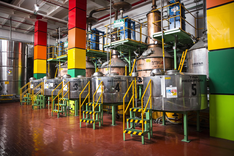destilado agave alambiques