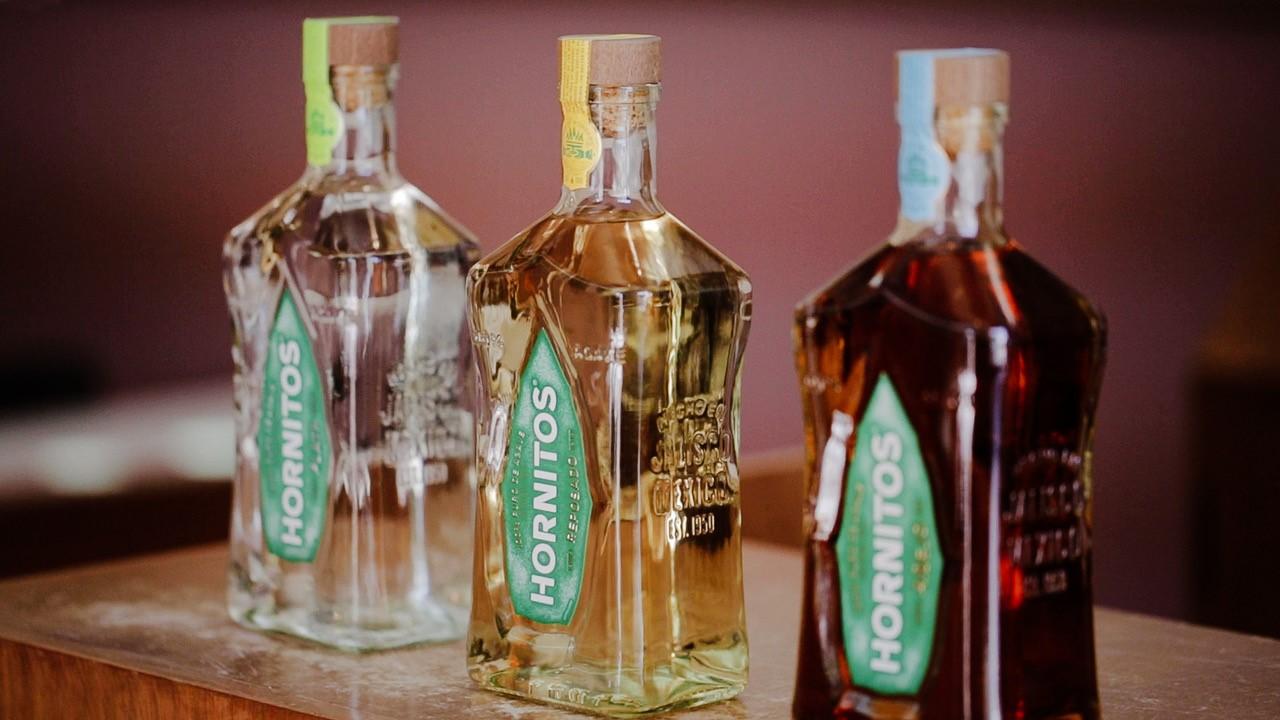 botellas hornitos